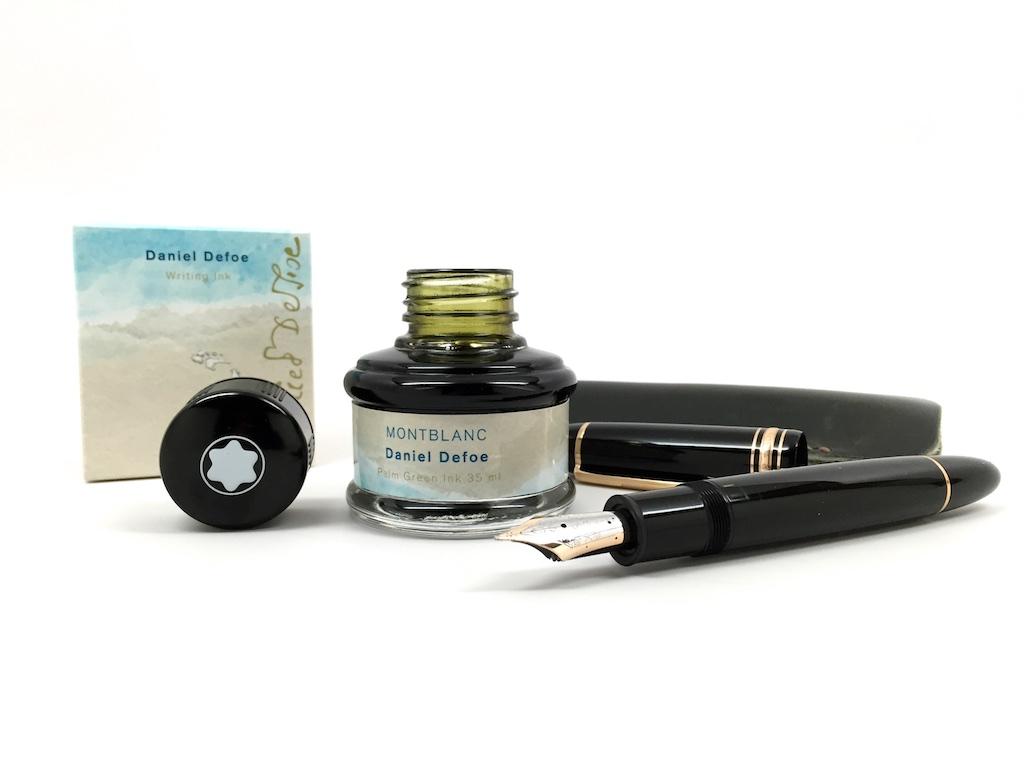 Montblanc Daniel Defoe Palm Green Ink Review – edjelley ...