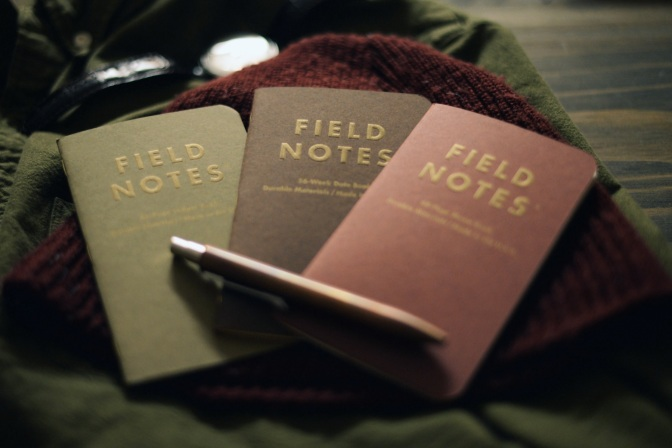 "Field Notes ""Ambition"" – Winter 2014 Colors Edition – Review"