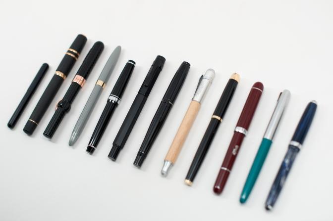 Pens / Ink / Cases for Sale – November 2014