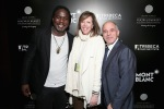 "(L-R) Kweku Mandela, Jane Rosenthal and Mike Giannattasio attend the NYC premiere of ""Power of Words"" powered by Montblanc and Tribeca Film Institute on December 5, 2014 in New York City. (Photo by Neilson Barnard/Getty Images for Montblanc)"