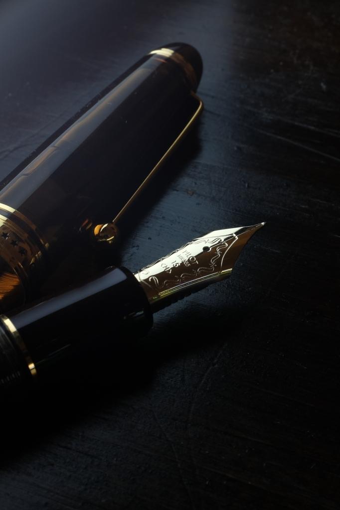 Fountain Pen Macro Nib Shots-5