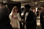 Co-founder of the Tribeca Film Institute, Jane Rosenthal and Kweiku Mandela