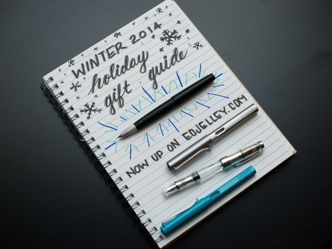 Winter 2014 Holiday Gift Guide for the Fountain Pen Lover