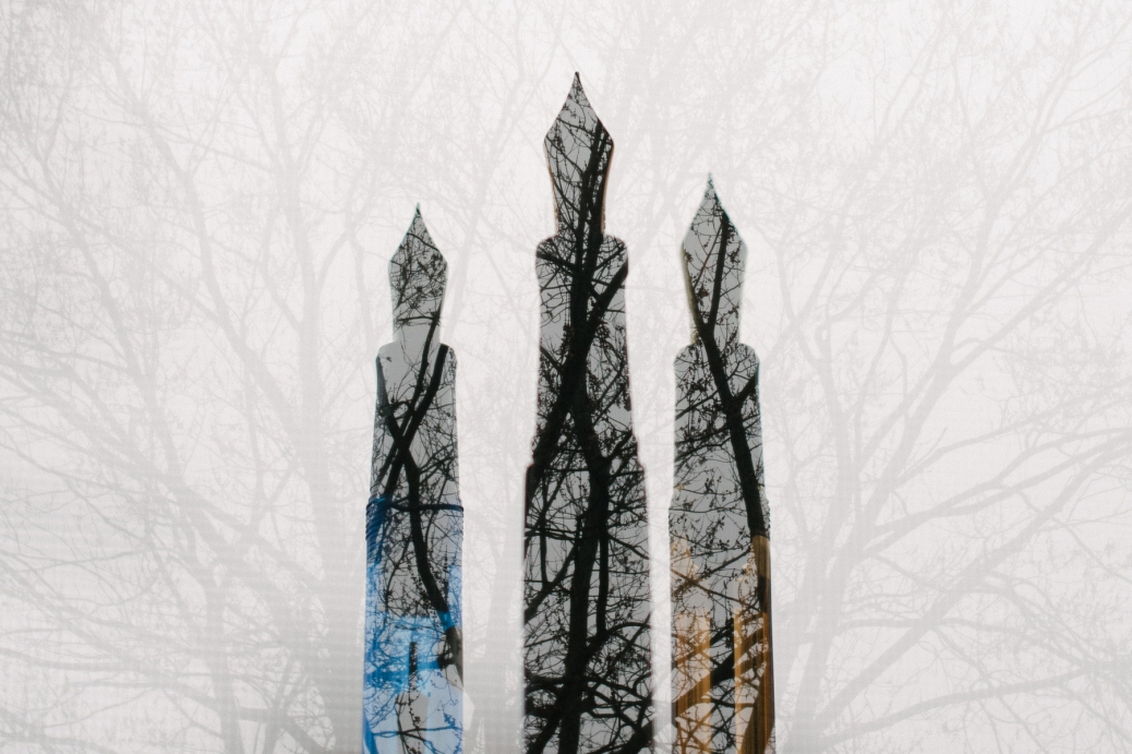 Fountain Pen Double Exposure-3