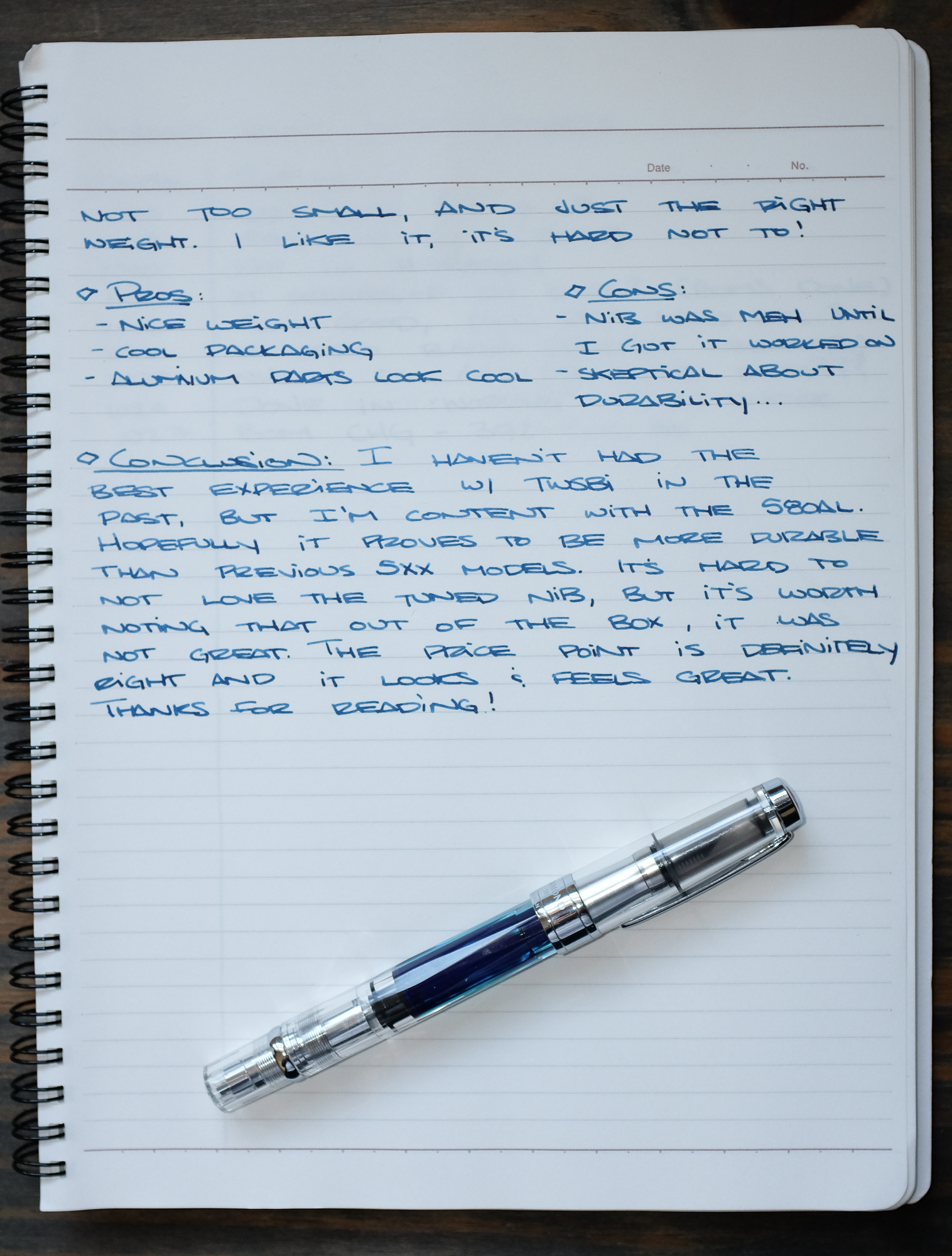 fountain pen writing A lifetime writing with the ballpoint and minor variations on the concept (gel pens, rollerballs) left me unprepared for how completely different a fountain pen would feel its thin ink immediately leaves a mark on paper with even the slightest, pressure-free touch to.
