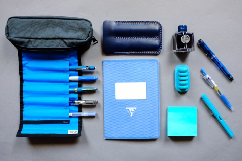 Colors Series Blue Stationery-1