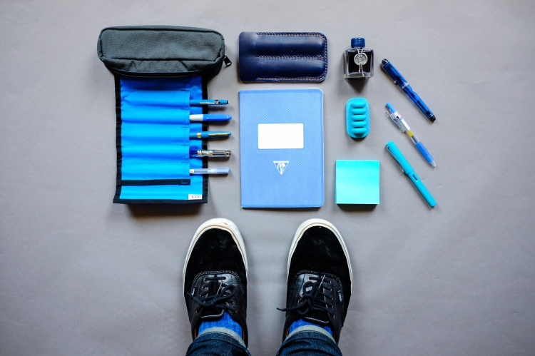 Colors Series Blue Stationery-2
