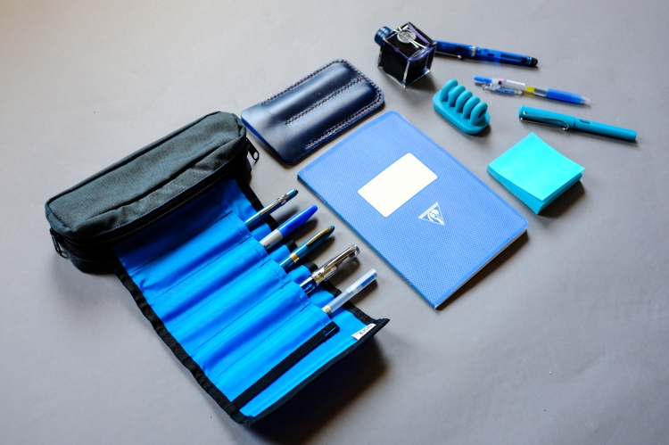Colors Series Blue Stationery-3