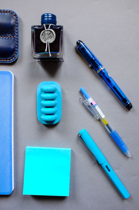 Colors Series Blue Stationery-4