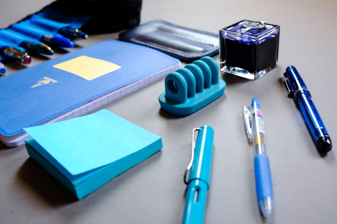 Stationery in Colors – Blue Edition