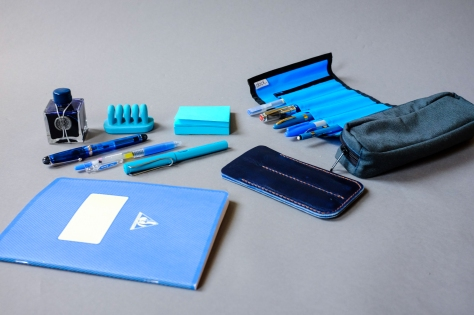 Colors Series Blue Stationery-7