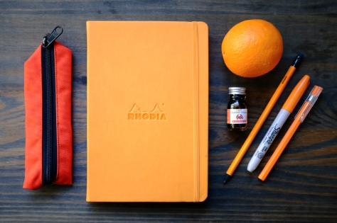 Colors Series Orange Stationery1