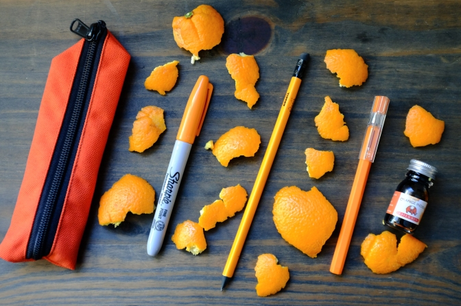Stationery in Colors – Orange Edition