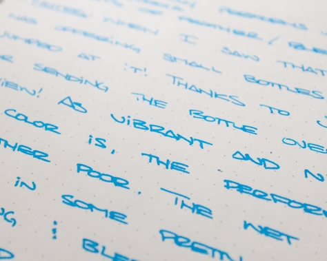 J. Herbin Bleu Pervenche Fountain Pen Ink Review-2