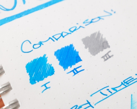 J. Herbin Bleu Pervenche Fountain Pen Ink Review-9