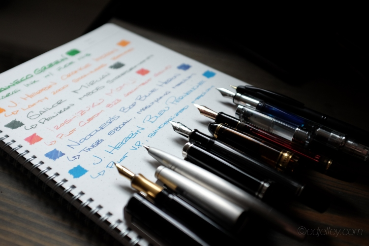 March 2015 Fountain Pen Loadout-3