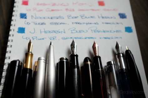 March 2015 Fountain Pen Loadout-4