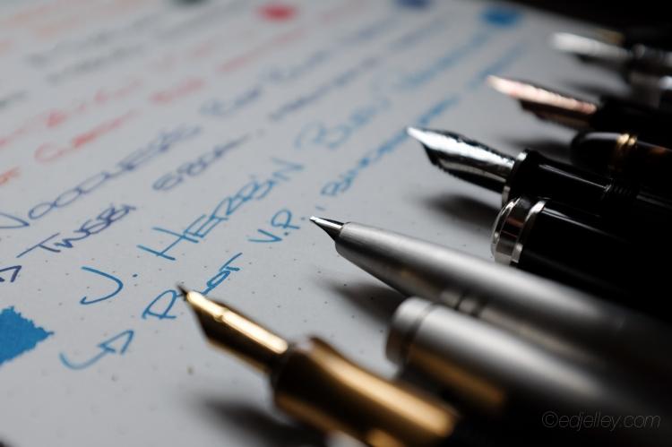 March 2015 Fountain Pen Loadout-5