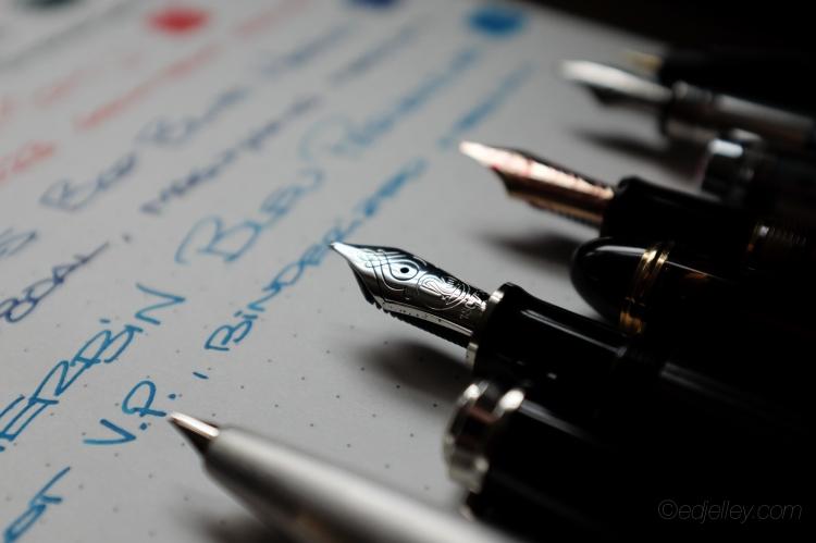 March 2015 Fountain Pen Loadout-6
