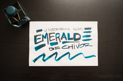 J. Herbin 1670 Emerald of Chivor Review-1