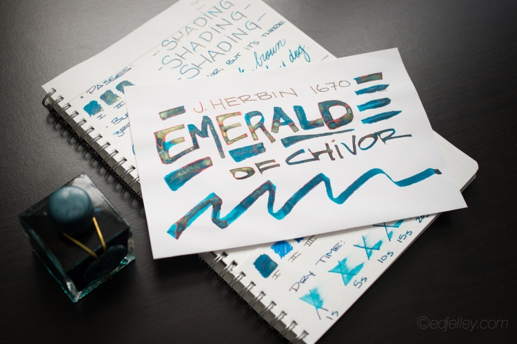 J. Herbin 1670 Emerald of Chivor Review-11