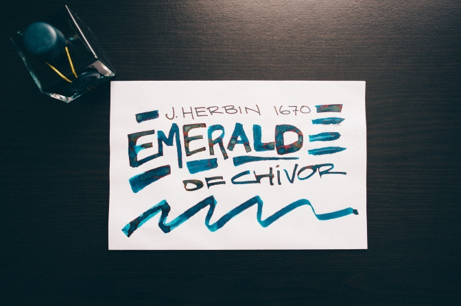 J. Herbin 1670 Emerald of Chivor – Ink Review + Video