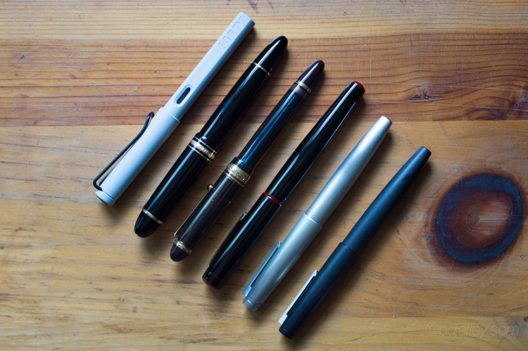 June 2015 Monthly Fountain Pen Loadout-3