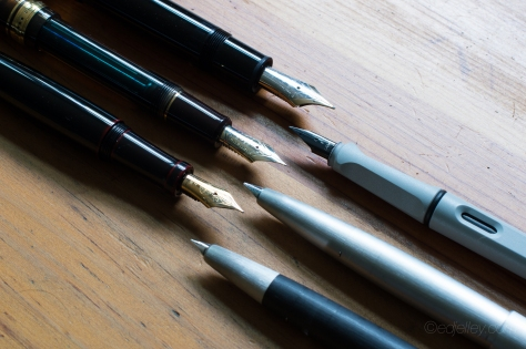 June 2015 Monthly Fountain Pen Loadout-6