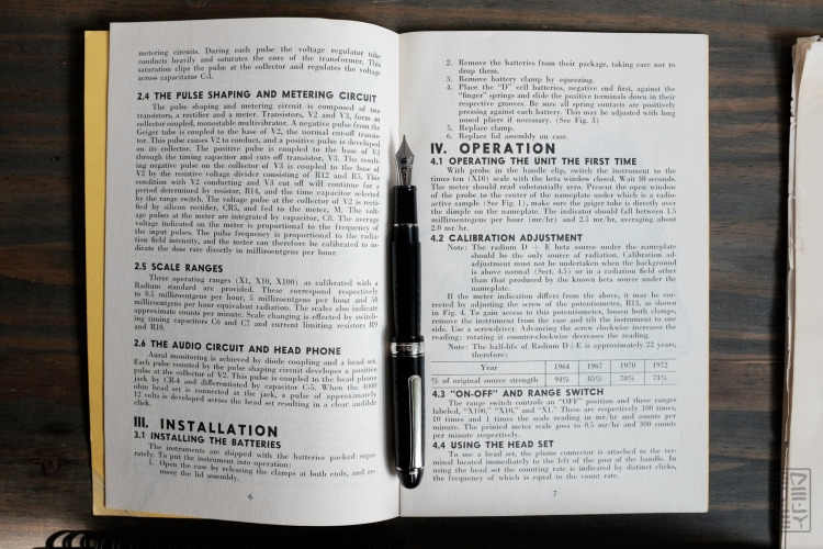 Civil Defense Documents 1960s Platinum 3776-10