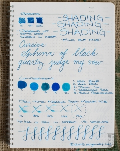 Diamine Asa Blue Fountain Pen Ink Review-7