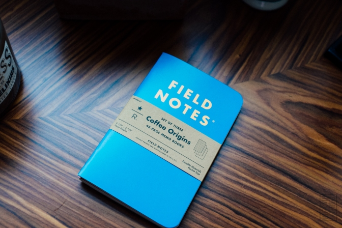 "Field Notes Starbucks Reserve ""Coffee Origins"" Review"