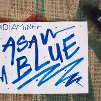 Diamine Asa Blue Ink Review