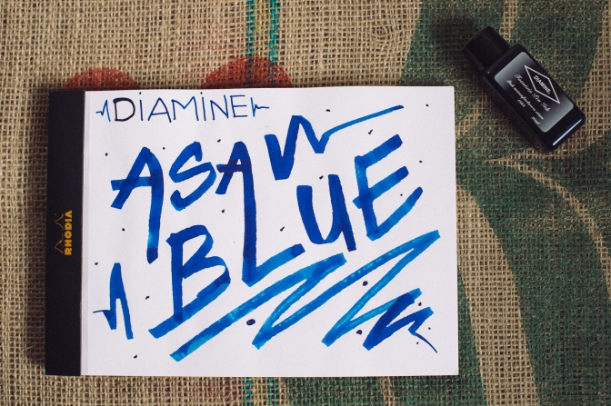 Diamine Asa Blue Ink Review