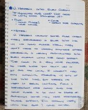 J. Herbin 1670 Bleu Ocean Fountain Pen Ink Review Sheen-1
