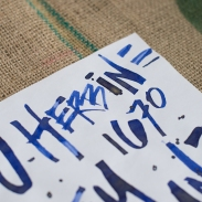 J. Herbin 1670 Bleu Ocean Fountain Pen Ink Review Sheen-10