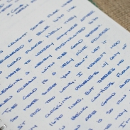 J. Herbin 1670 Bleu Ocean Fountain Pen Ink Review Sheen-4