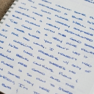 J. Herbin 1670 Bleu Ocean Fountain Pen Ink Review Sheen-5