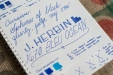 J. Herbin 1670 Bleu Ocean Fountain Pen Ink Review Sheen-8