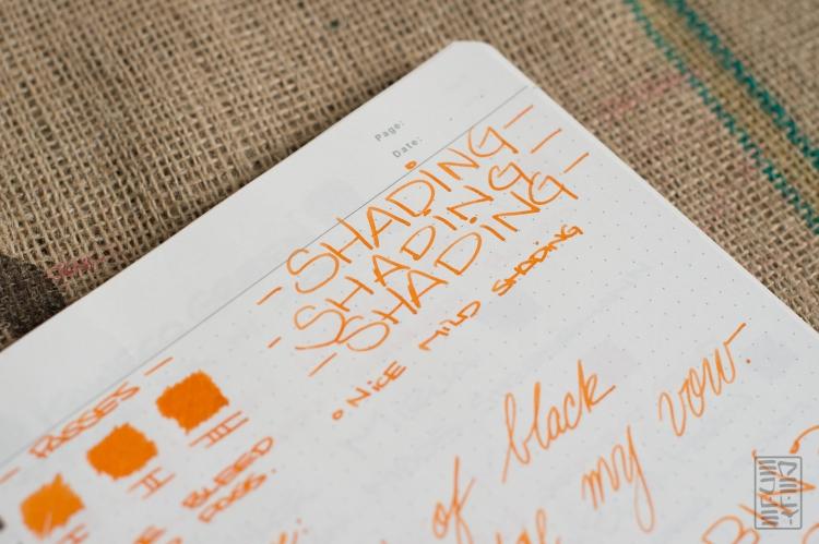 J. Herbin Orange Indien Fountain Pen Ink Review-6
