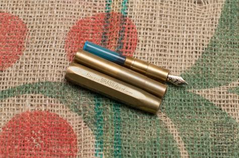 Kaweco Brass Sport Fountain Pen Review-12