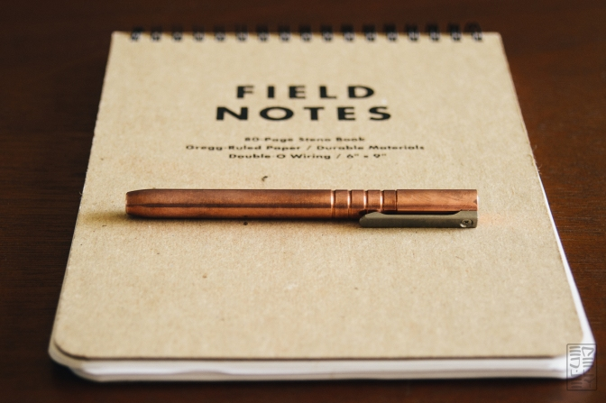 Kickstarter: TiScribe Fountain/Ballpoint EDC Pen in Copper
