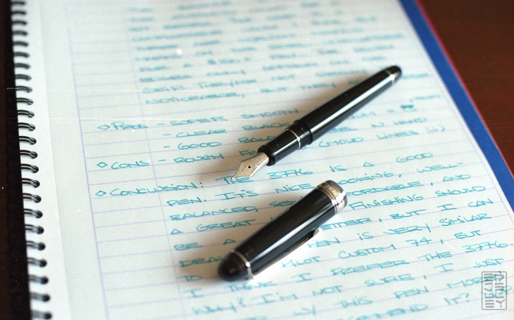 Platinum 3776 Century Black Diamond Fountain Pen Review-1