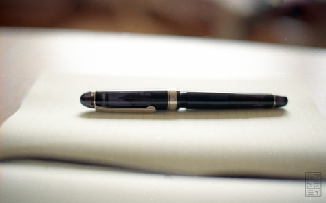 Platinum 3776 Century Black Diamond Fountain Pen Review-10