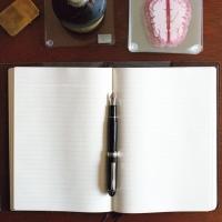 Super Analog: Platinum 3776 Black Diamond  Fountain Pen Review