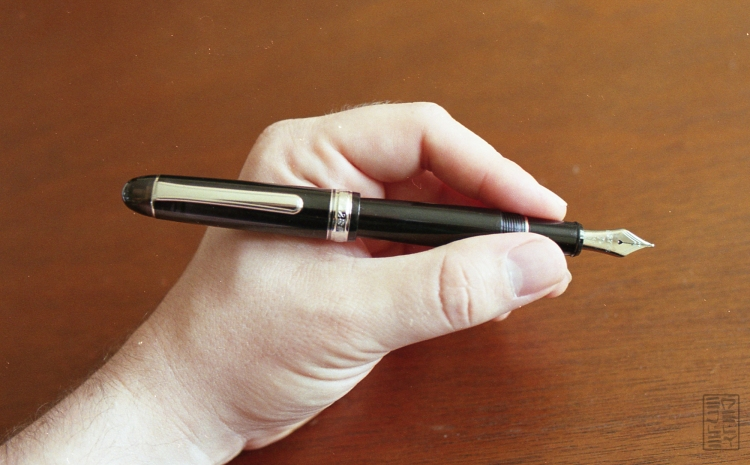 Platinum 3776 Century Black Diamond Fountain Pen Review-12