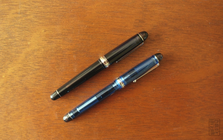 Platinum 3776 Century Black Diamond Fountain Pen Review-15