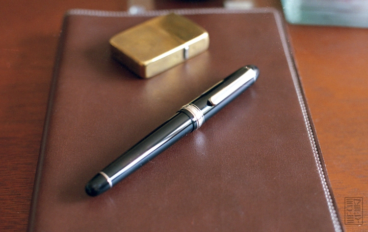 Platinum 3776 Century Black Diamond Fountain Pen Review-16