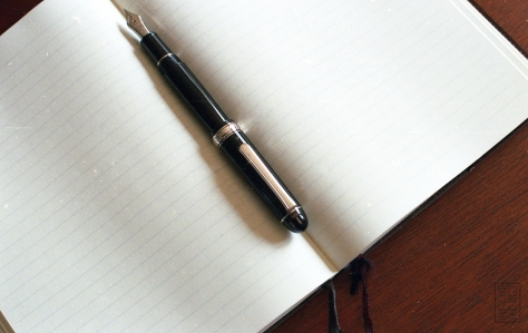 Platinum 3776 Century Black Diamond Fountain Pen Review-17