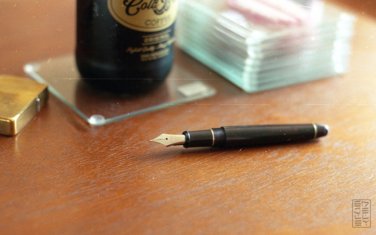 Platinum 3776 Century Black Diamond Fountain Pen Review-9