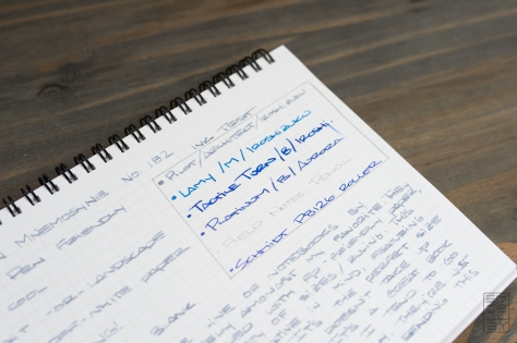 Maruman Mnemosyne 182 Notebook Review-3